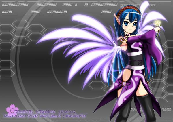 Crystal from Little Wing