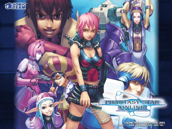 Phantasy Star Online Wallpaper: Phantasy Star Online