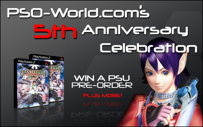 PSO-World.com's 5th Anniversary!