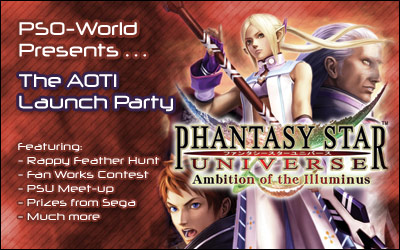 PSO-World's Ambitions of the Illuminus Launch Party!