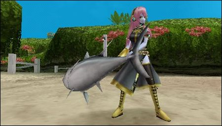 Luka and her giant fish